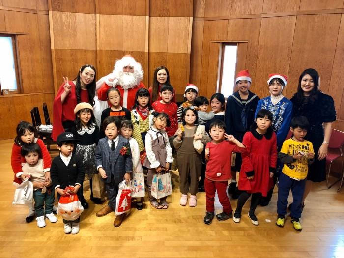 土橋教室クリスマスコンサートのベストドレッサー賞発表